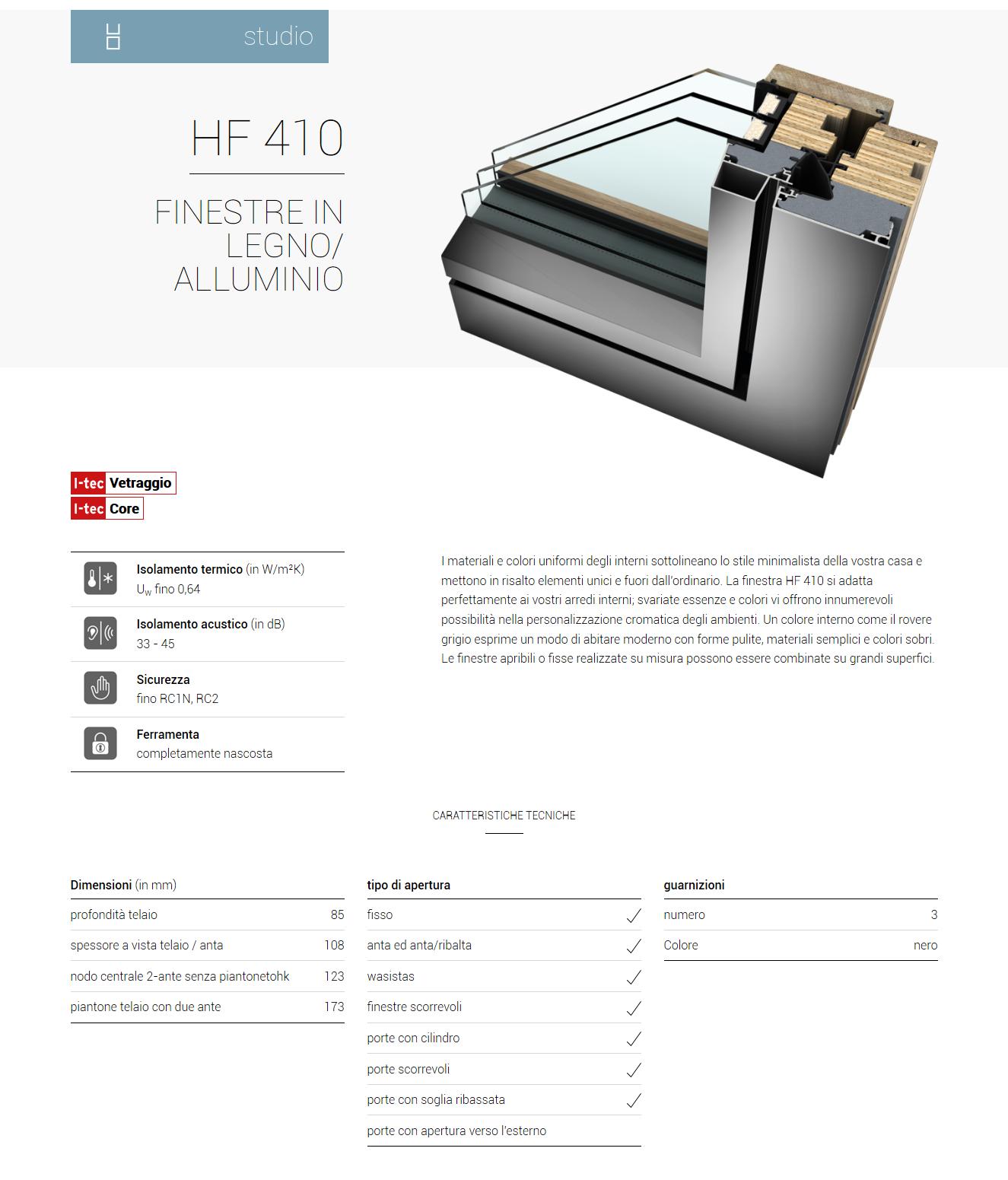 hf 410 studio